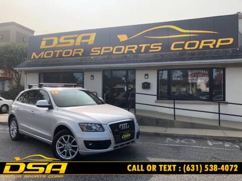 2012 Audi Q5 for sale at DSA Motor Sports Corp in Commack NY