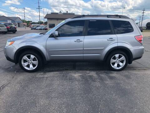 2010 Subaru Forester for sale at Mike's Budget Auto Sales in Cadillac MI
