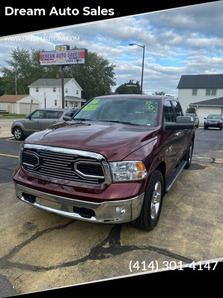 2016 RAM Ram Pickup 1500 for sale at Dream Auto Sales in South Milwaukee WI