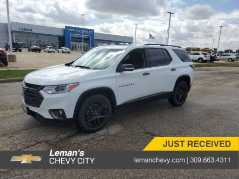 2021 Chevrolet Traverse for sale at Leman's Chevy City in Bloomington IL
