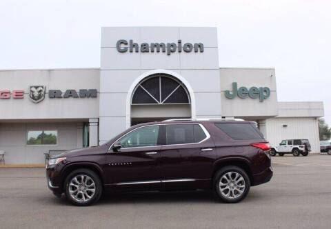 2018 Chevrolet Traverse for sale at Champion Chevrolet in Athens AL