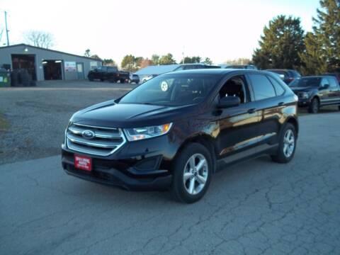 2017 Ford Edge for sale at SHULLSBURG AUTO in Shullsburg WI