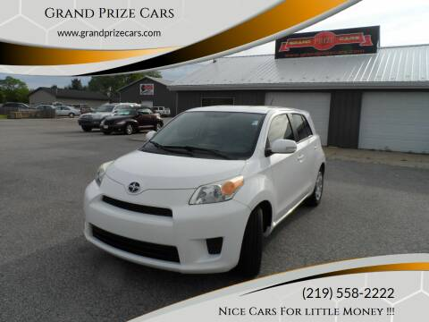 2012 Scion xD for sale at Grand Prize Cars in Cedar Lake IN