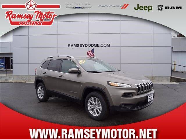 2018 Jeep Cherokee for sale at RAMSEY MOTOR CO in Harrison AR