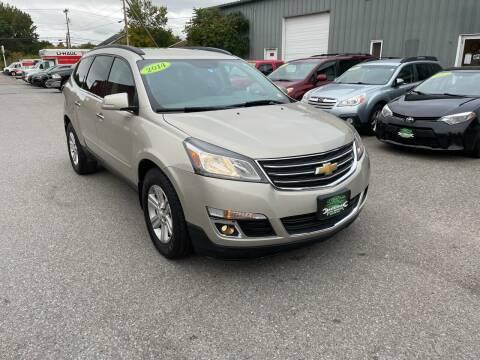 2014 Chevrolet Traverse for sale at Vermont Auto Service in South Burlington VT