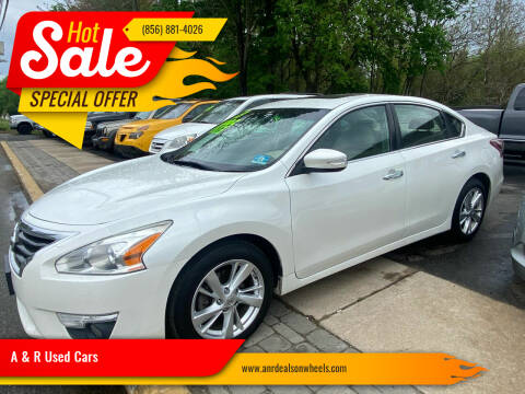 2013 Nissan Altima for sale at A & R Used Cars in Clayton NJ