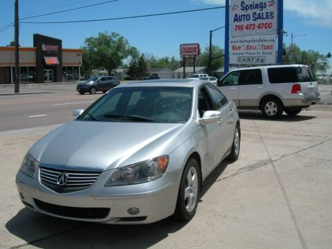 2006 Acura RL for sale at Springs Auto Sales in Colorado Springs CO