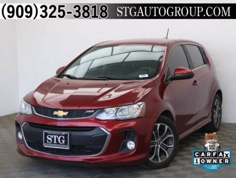 2017 Chevrolet Sonic for sale at STG Auto Group in Montclair CA