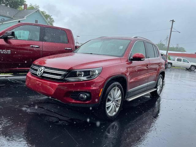 2014 Volkswagen Tiguan for sale at Reser Motorsales in Urbana OH