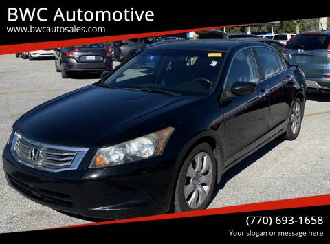 2010 Honda Accord for sale at BWC Automotive in Kennesaw GA