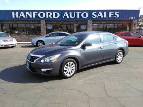 2013 Nissan Altima for sale at Hanford Auto Sales in Hanford CA