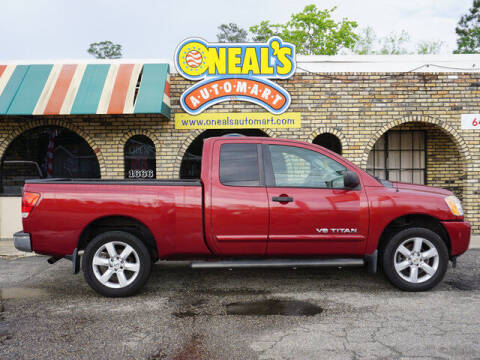 2013 Nissan Titan for sale at Oneal's Automart LLC in Slidell LA