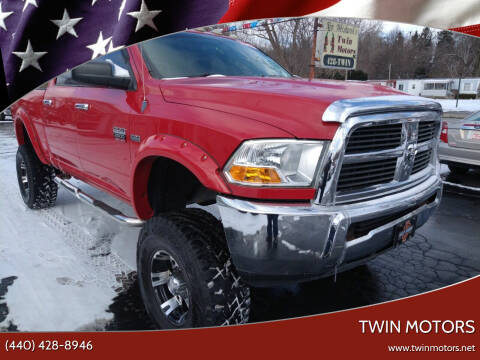 2011 RAM Ram Pickup 2500 for sale at TWIN MOTORS in Madison OH