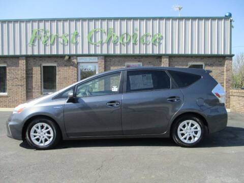 2012 Toyota Prius v for sale at First Choice Auto in Greenville SC