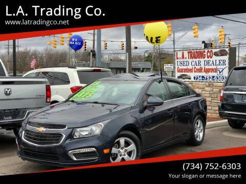 2015 Chevrolet Cruze for sale at L.A. Trading Co. in Woodhaven MI