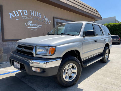 2000 Toyota 4Runner for sale at Auto Hub, Inc. in Anaheim CA