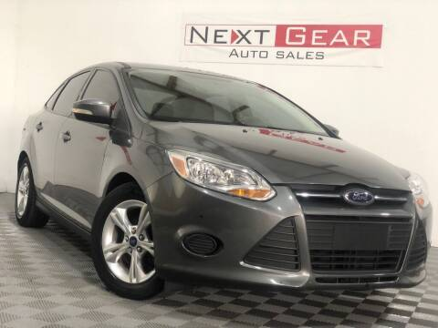 2014 Ford Focus for sale at Next Gear Auto Sales in Westfield IN