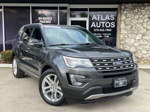 2017 Ford Explorer for sale at ATLAS AUTOS in Marietta GA