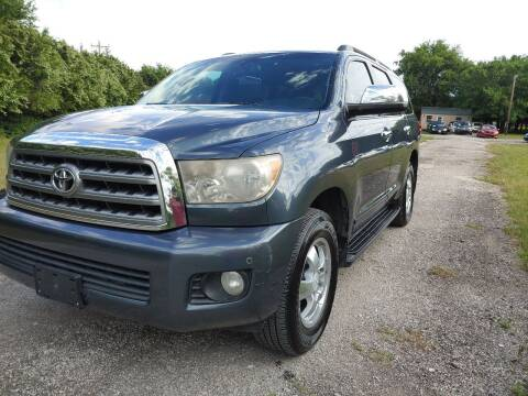 2008 Toyota Sequoia for sale at The Car Shed in Burleson TX
