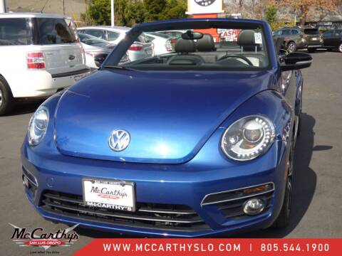 2014 Volkswagen Beetle Convertible for sale at McCarthy Wholesale in San Luis Obispo CA