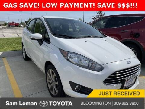2016 Ford Fiesta for sale at Sam Leman Toyota Bloomington in Bloomington IL