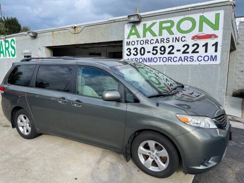 2011 Toyota Sienna for sale at Akron Motorcars Inc. in Akron OH