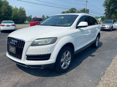 2012 Audi Q7 for sale at Erie Shores Car Connection in Ashtabula OH