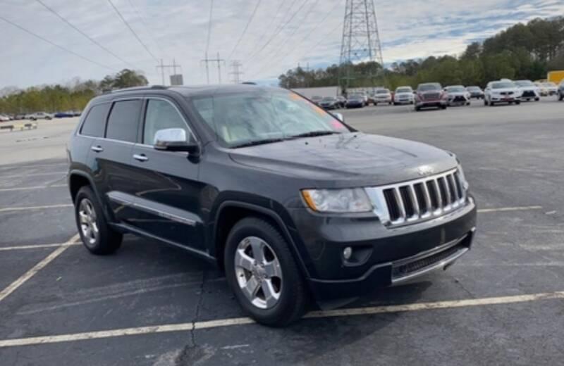 2011 Jeep Grand Cherokee for sale at DON BAILEY AUTO SALES in Phenix City AL