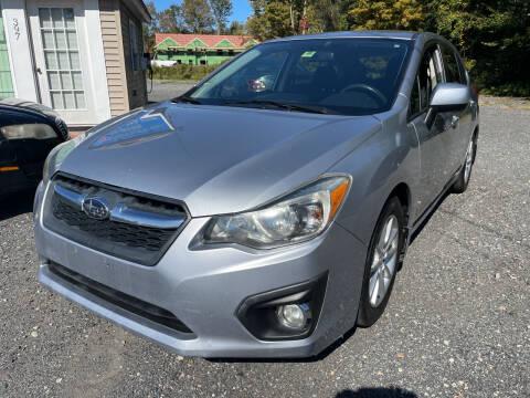 2012 Subaru Impreza for sale at AUTO OUTLET in Taunton MA