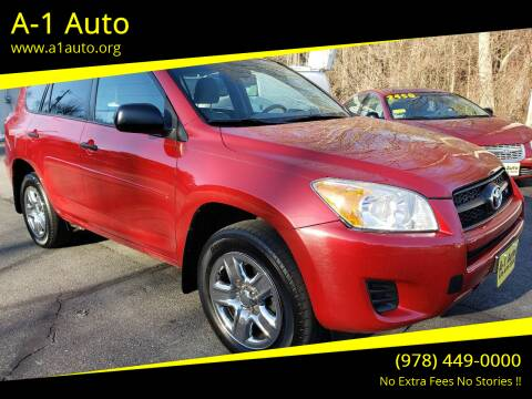 2012 Toyota RAV4 for sale at A-1 Auto in Pepperell MA