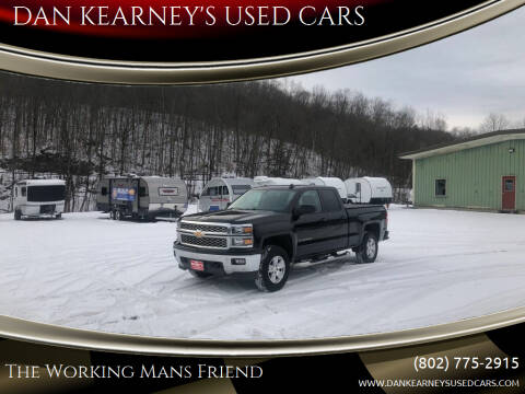 2015 Chevrolet Silverado 1500 for sale at DAN KEARNEY'S USED CARS in Center Rutland VT