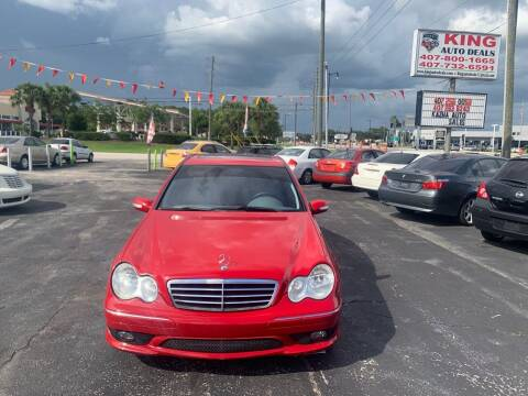 2006 Mercedes-Benz C-Class for sale at King Auto Deals in Longwood FL