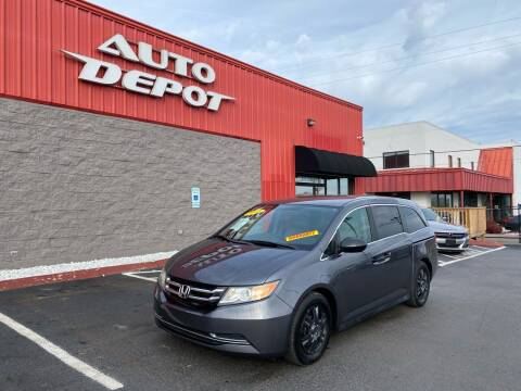 2014 Honda Odyssey for sale at Auto Depot of Madison in Madison TN