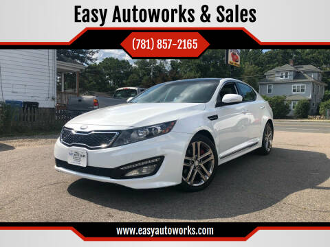 2013 Kia Optima for sale at Easy Autoworks & Sales in Whitman MA