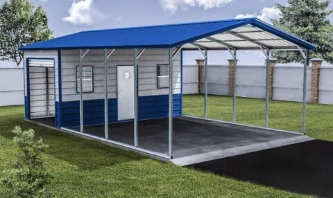 2020 Eagle Combo Unit Carport