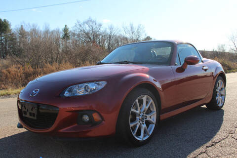 2015 Mazda MX-5 Miata for sale at Imotobank in Walpole MA