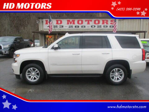 2015 Chevrolet Tahoe for sale at HD MOTORS in Kingsport TN