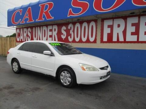 2003 Honda Accord for sale at CAR SOURCE OKC in Oklahoma City OK