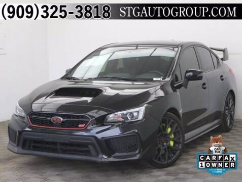 2018 Subaru WRX for sale at STG Auto Group in Montclair CA