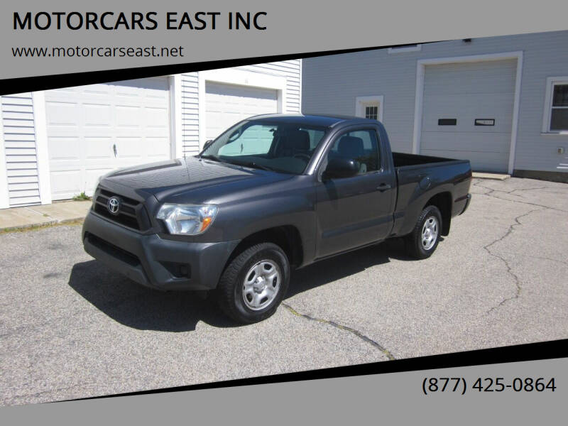 2012 Toyota Tacoma for sale at MOTORCARS EAST INC in Derry NH
