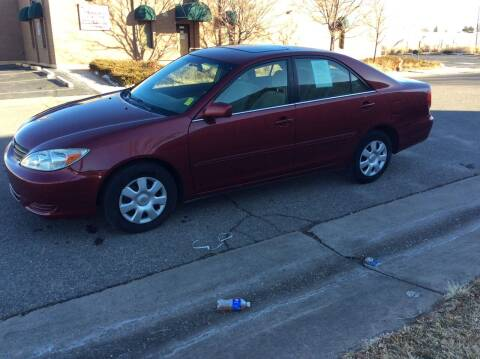 2003 Toyota Camry for sale at AROUND THE WORLD AUTO SALES in Denver CO
