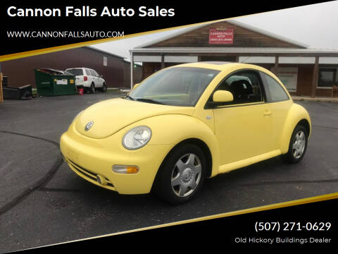 2000 Volkswagen New Beetle for sale at Cannon Falls Auto Sales in Cannon Falls MN