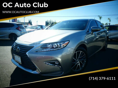 2017 Lexus ES 350 for sale at OC Auto Club in Midway City CA