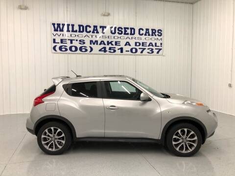 2012 Nissan JUKE for sale at Wildcat Used Cars in Somerset KY