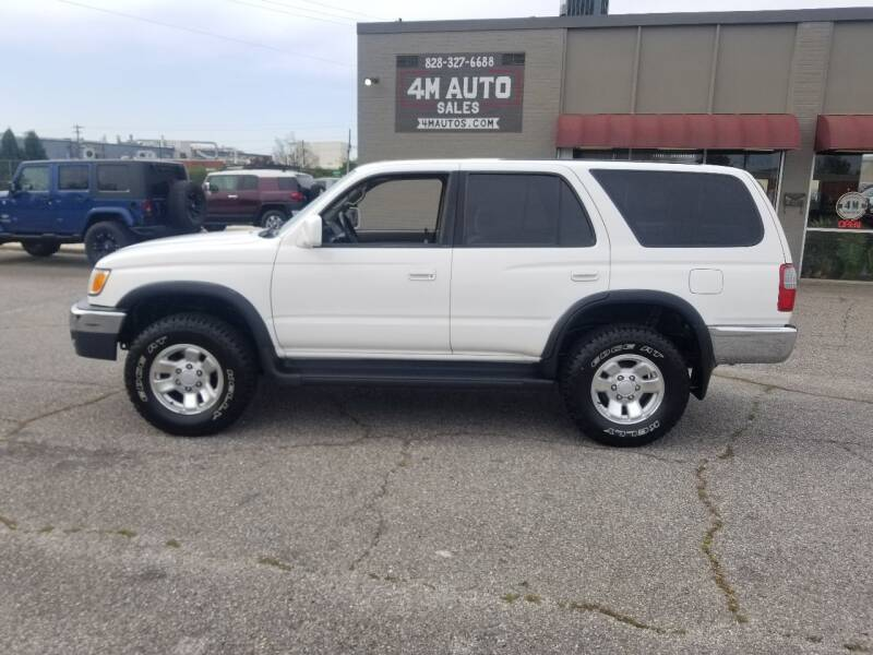 1999 Toyota 4Runner for sale at 4M Auto Sales | 828-327-6688 | 4Mautos.com in Hickory NC