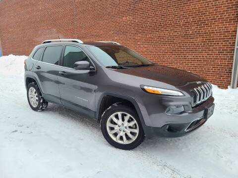 2015 Jeep Cherokee for sale at Minnesota Auto Sales in Golden Valley MN