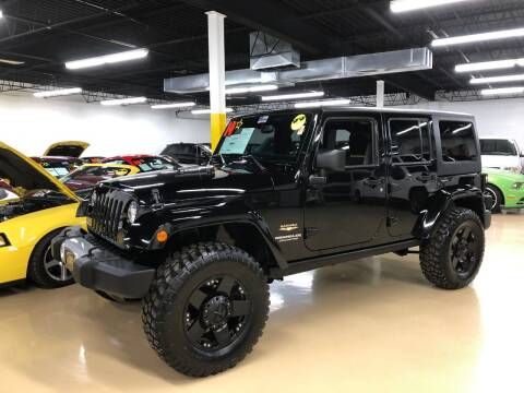 2014 Jeep Wrangler Unlimited for sale at Fox Valley Motorworks in Lake In The Hills IL