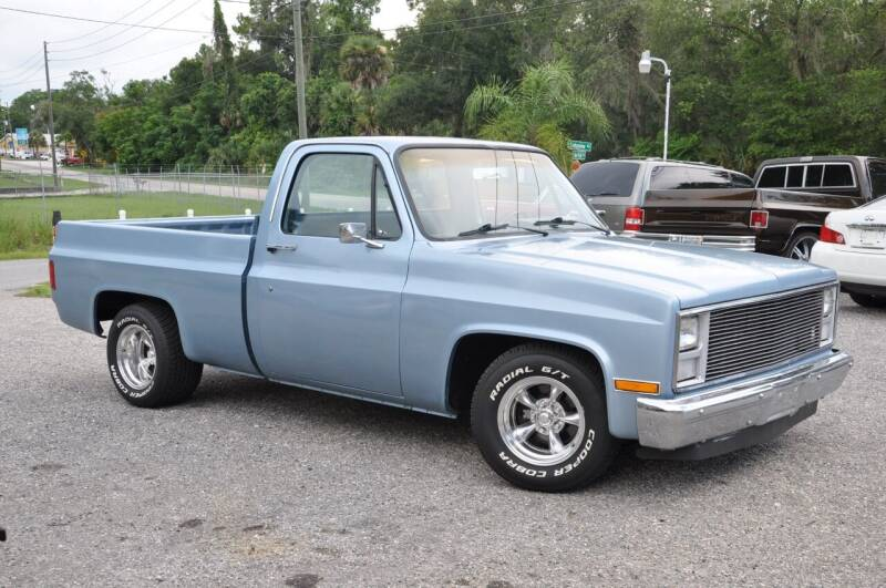 1985 Chevrolet C/K 10 Series for sale at Elite Motorcar, LLC in Deland FL