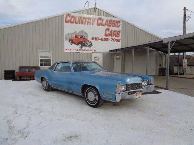 1969 Cadillac Eldorado for sale in Staunton, IL