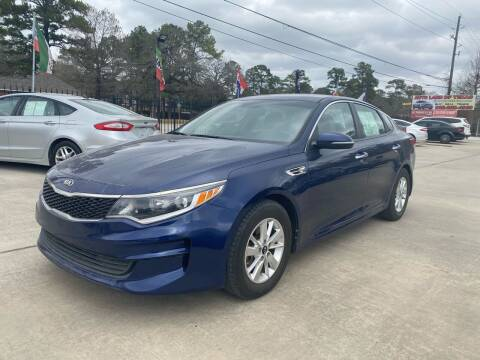 2016 Kia Optima for sale at Auto Land Of Texas in Cypress TX